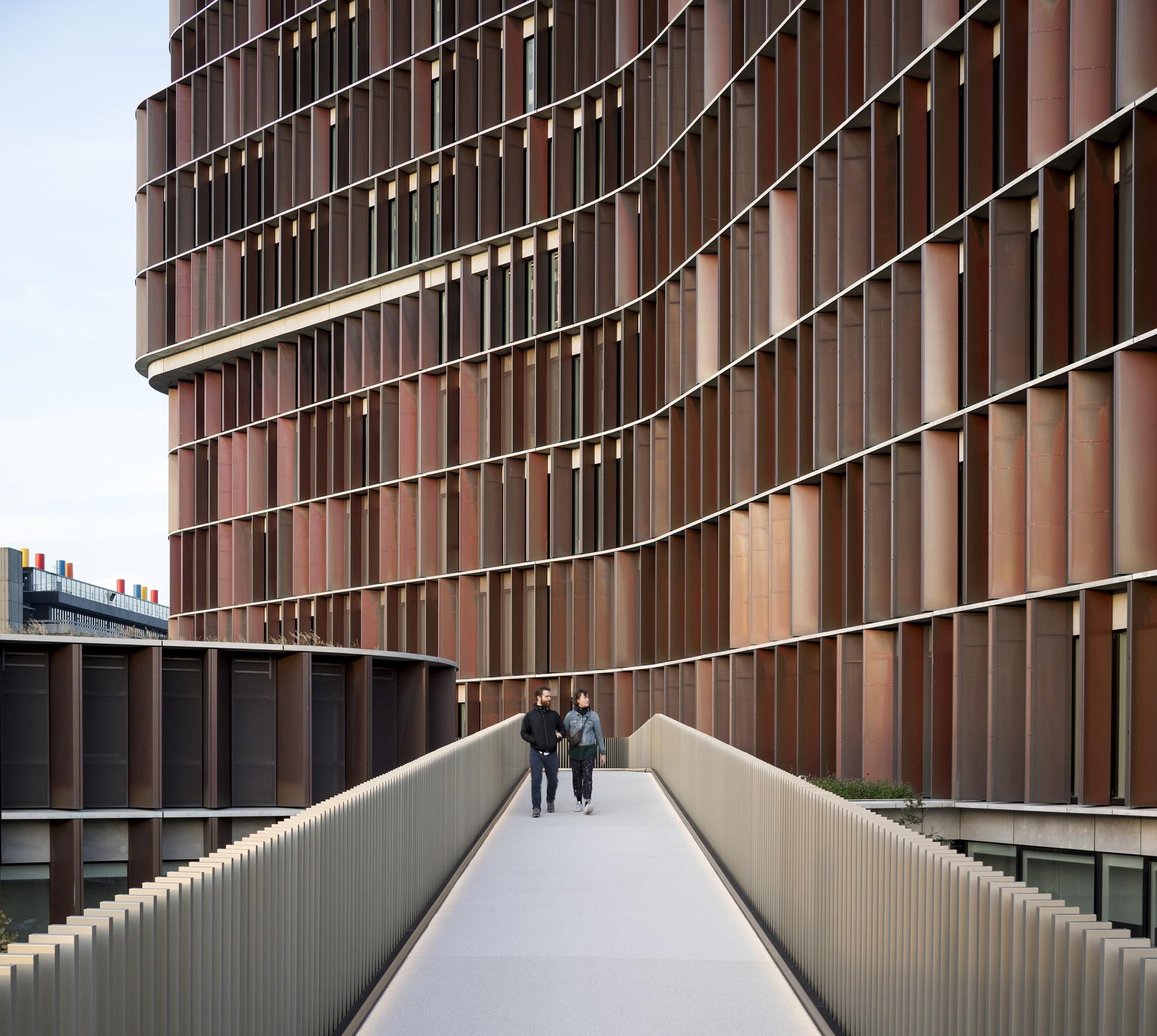 La tour Maersk, un bâtiment signal devenu un emblème énergétique à Copenhague