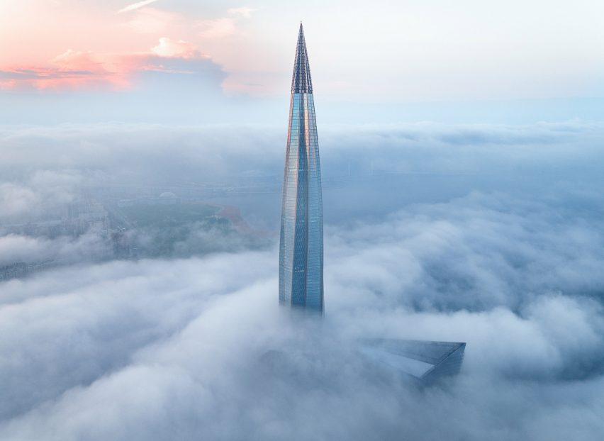 Le Lakhta Centre est le plus grand bâtiment d'Europe