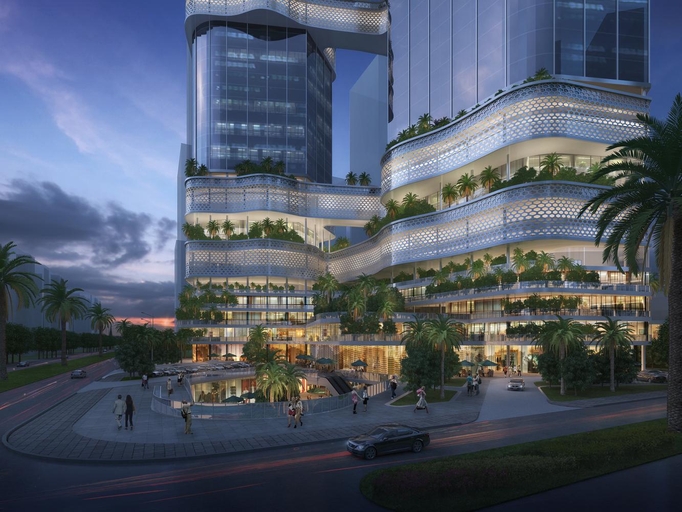 iCarbonX dévoile le design de son super quartier général à Shenzen