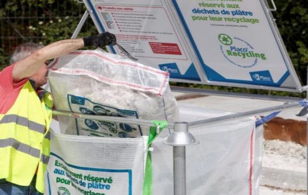 "Placo Recycling dévoile le ""Big Bag"""