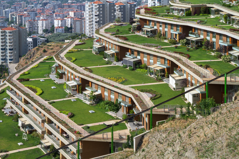 M artı D Mimarlık et les résidences Asma Bahçeler