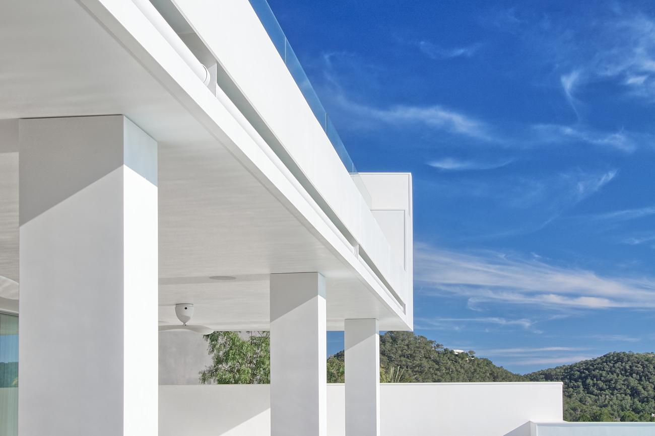 Le Solid Surface Avonite revêt les façades