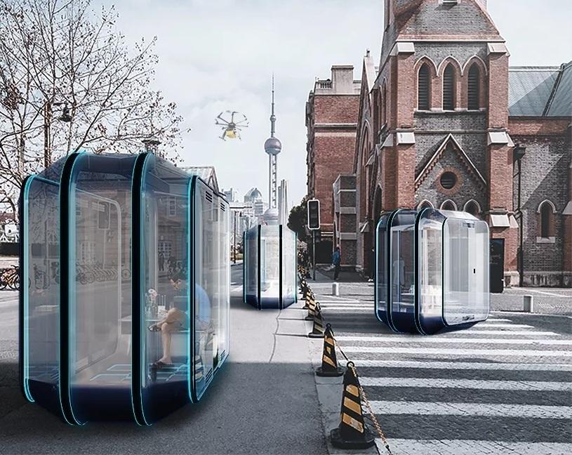 Florian Marquet imagine des espaces de vie modulaires, mobiles et autonomes