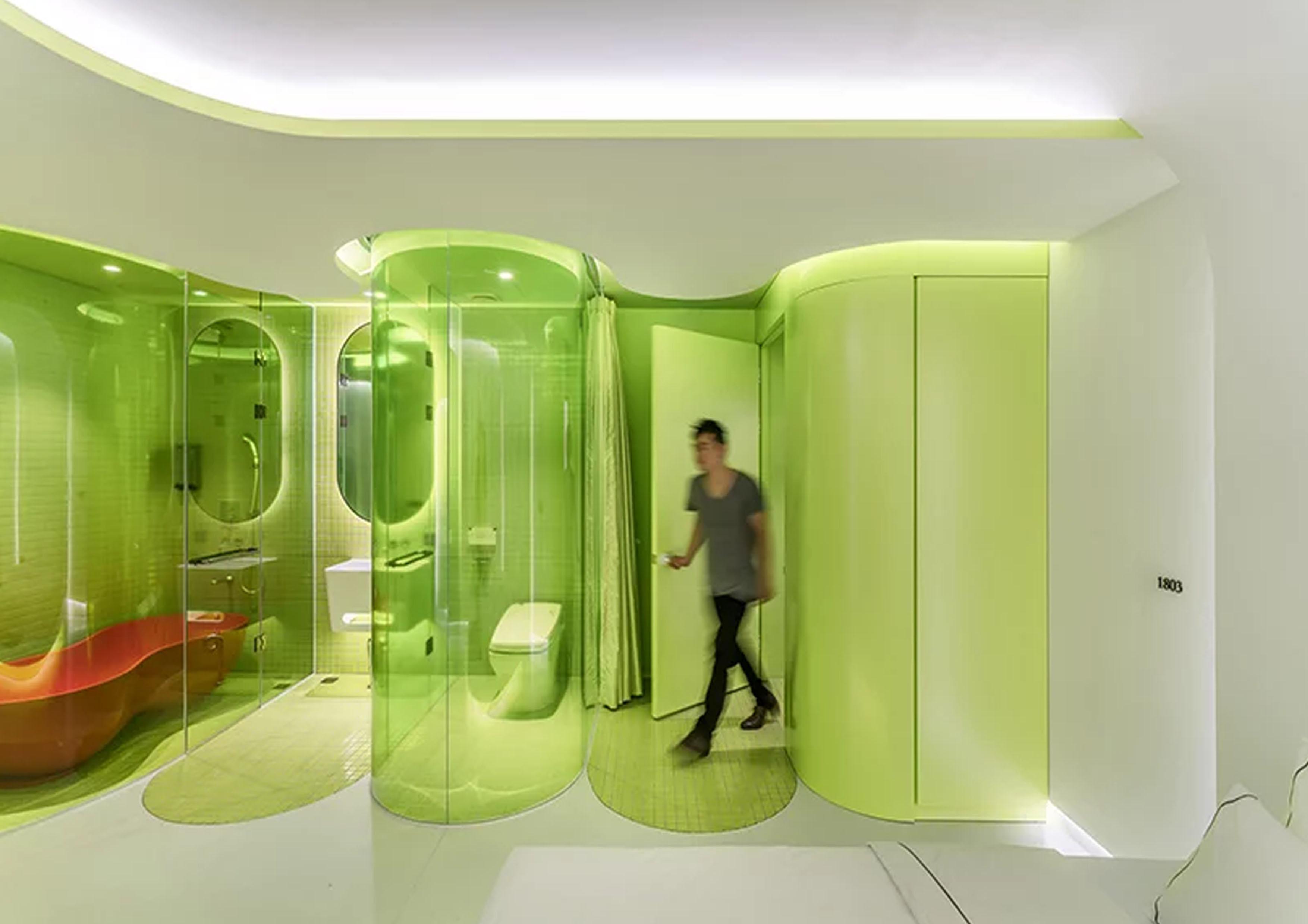SML imagine une suite vert citron au design complètement futuriste !