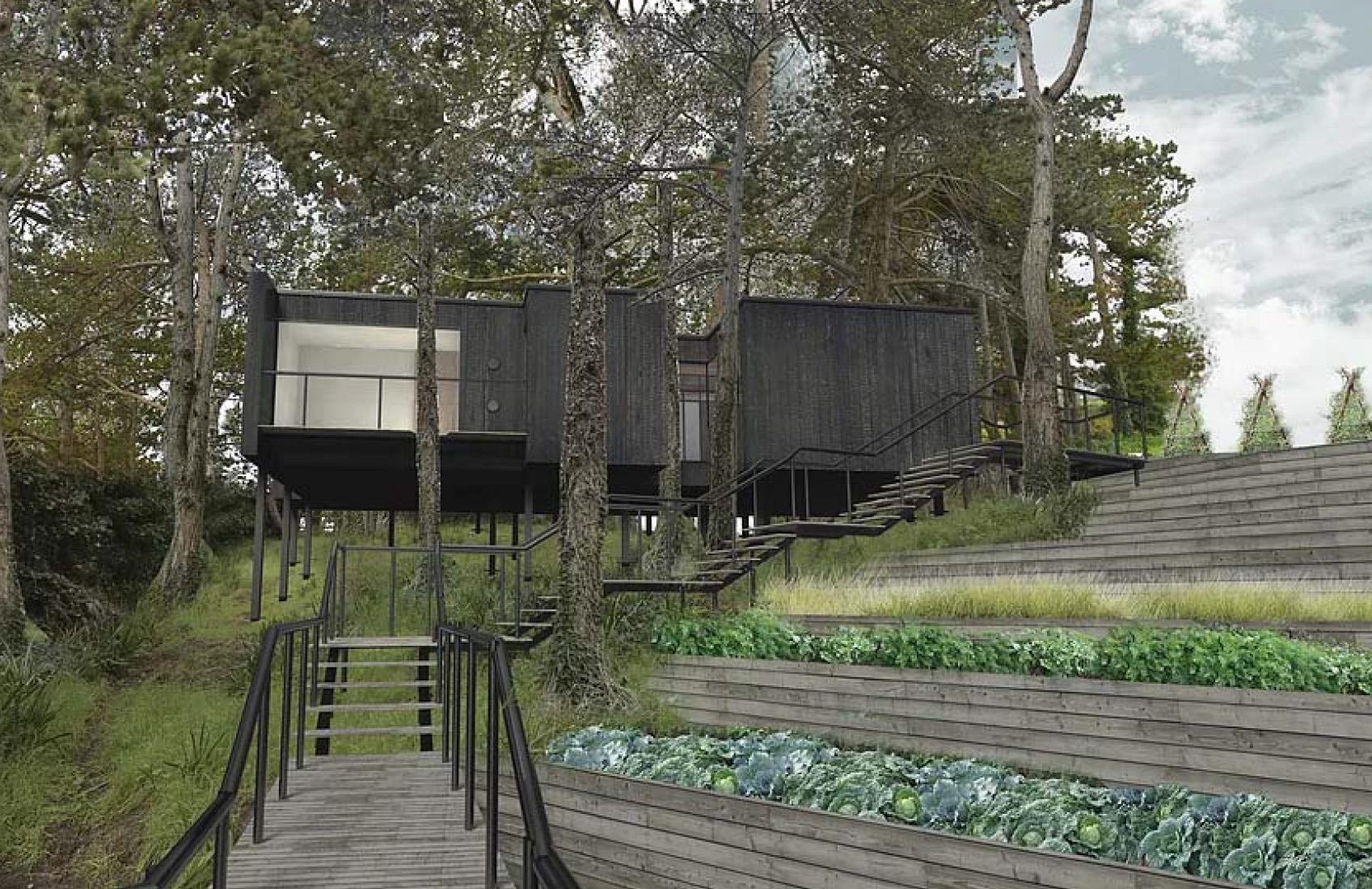Tree House, une cabane culinaire perchée au coeur de la Bretagne