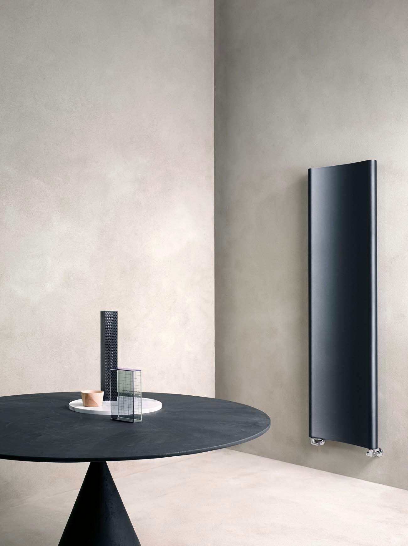 CALEIDO Modèle Bent :un radiateur au design sensuel