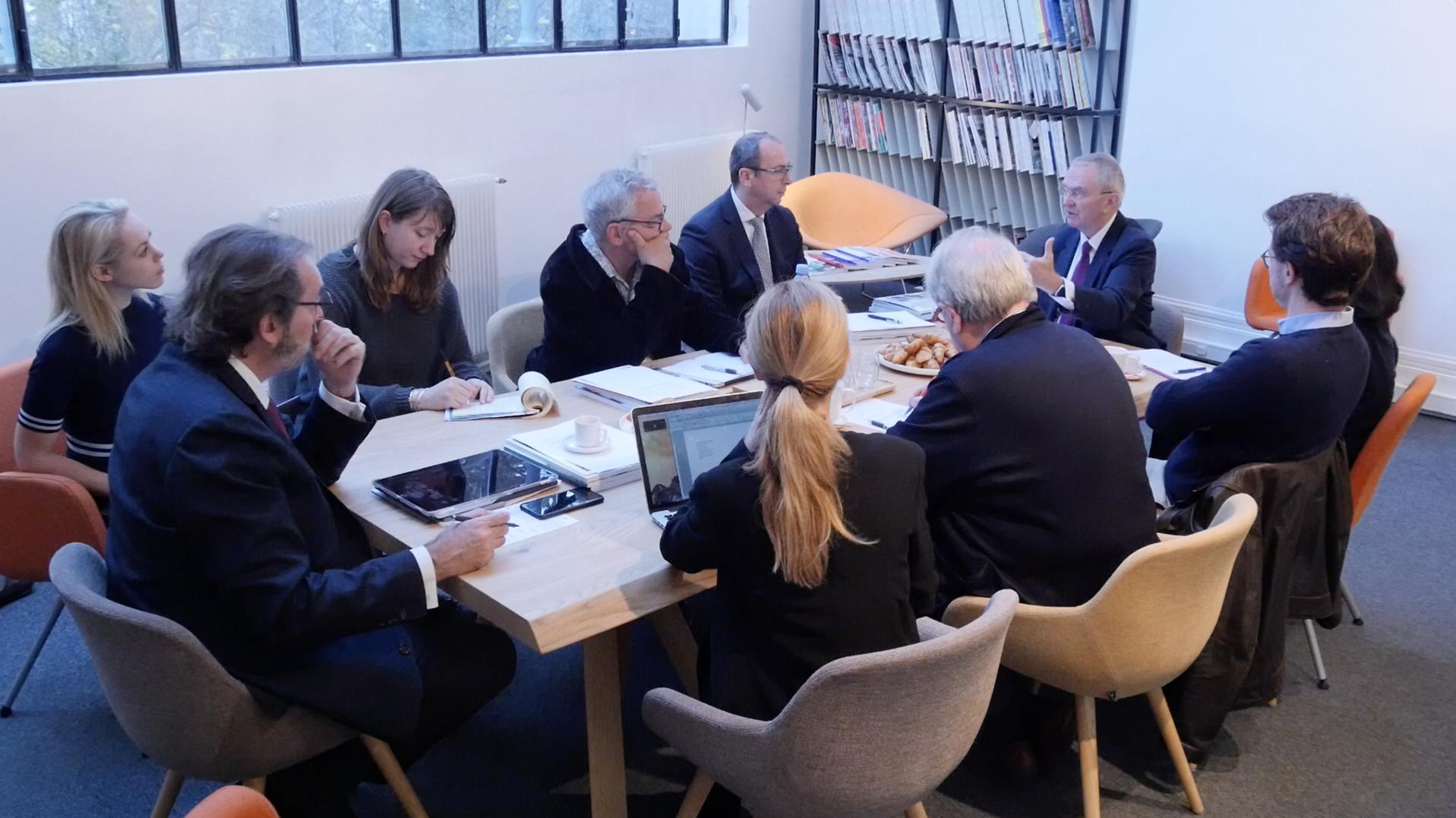 «La transformation du travail et le bureau de demain», une table ronde par Bernard Michel