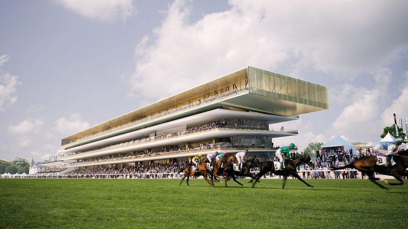 Le nouveau Longchamp, une course hippique