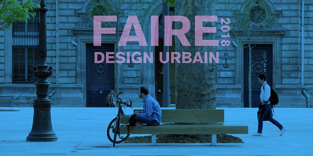 FAIRE 2018 Design Urbain – Appel à projets innovants