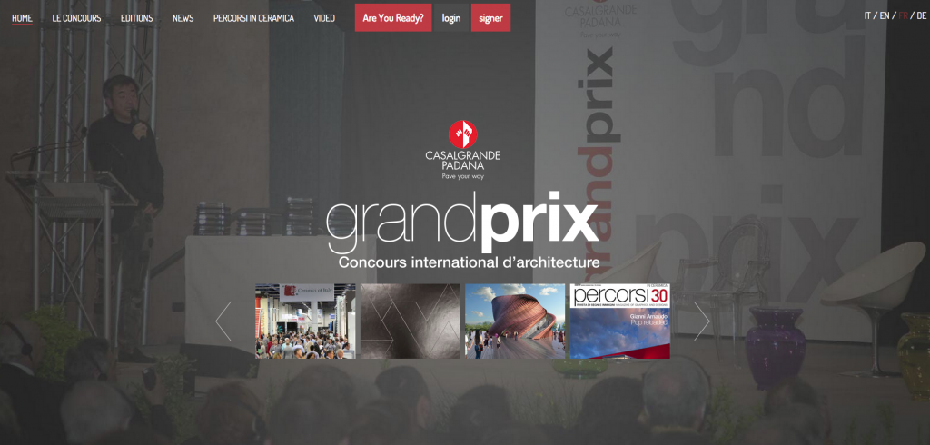 Nouveau site pour le Grand Prix Casalgrande Padana