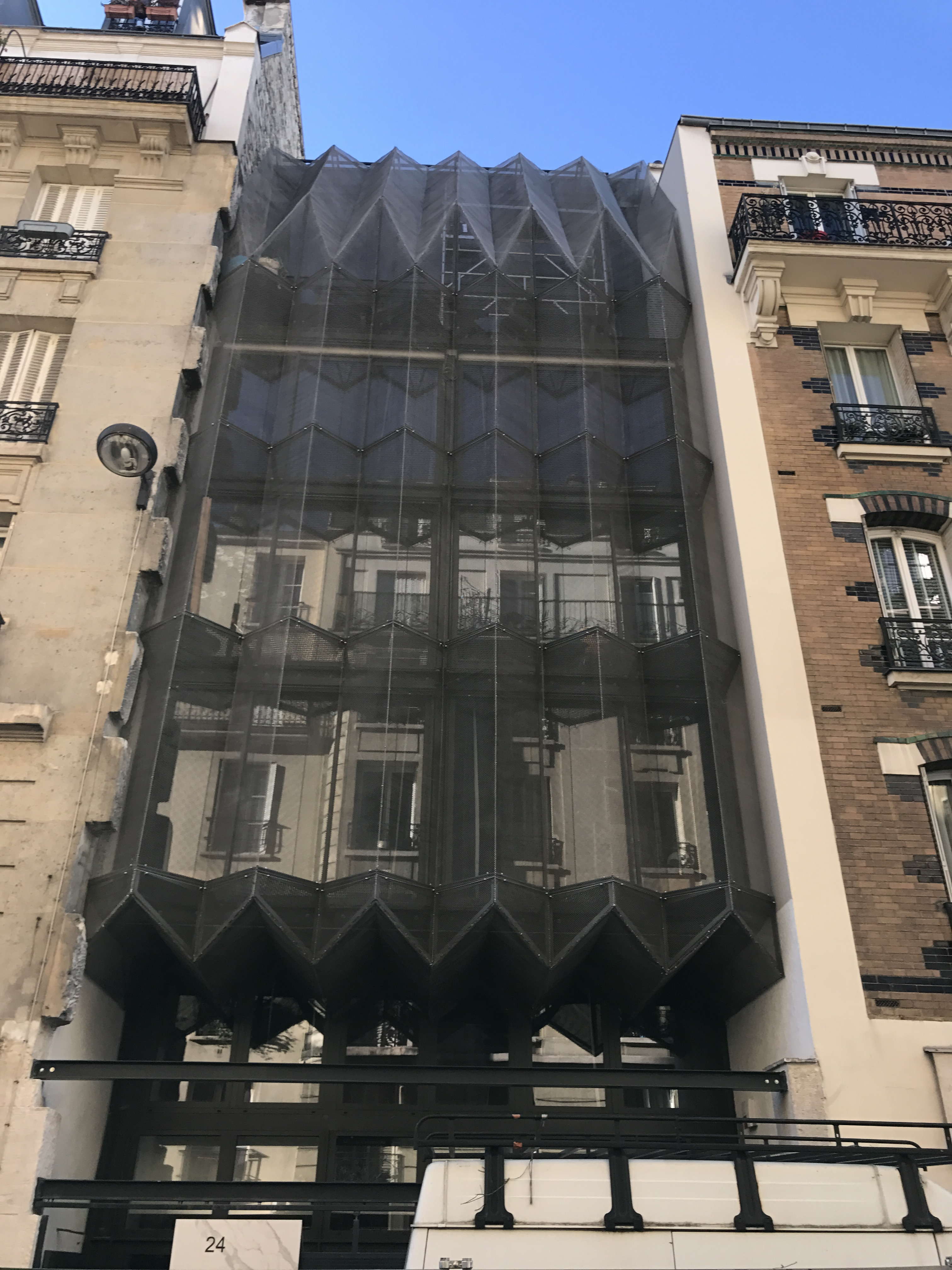 La maille métallique au service de l'architecture et du design