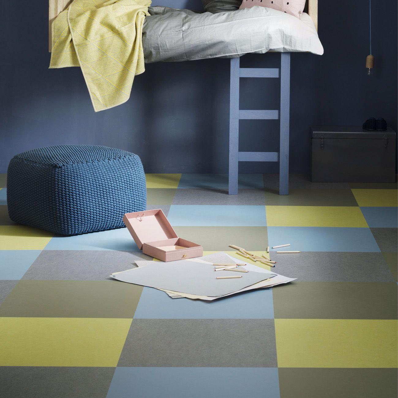 Marmoleum click : des possibilités infinies de conception !