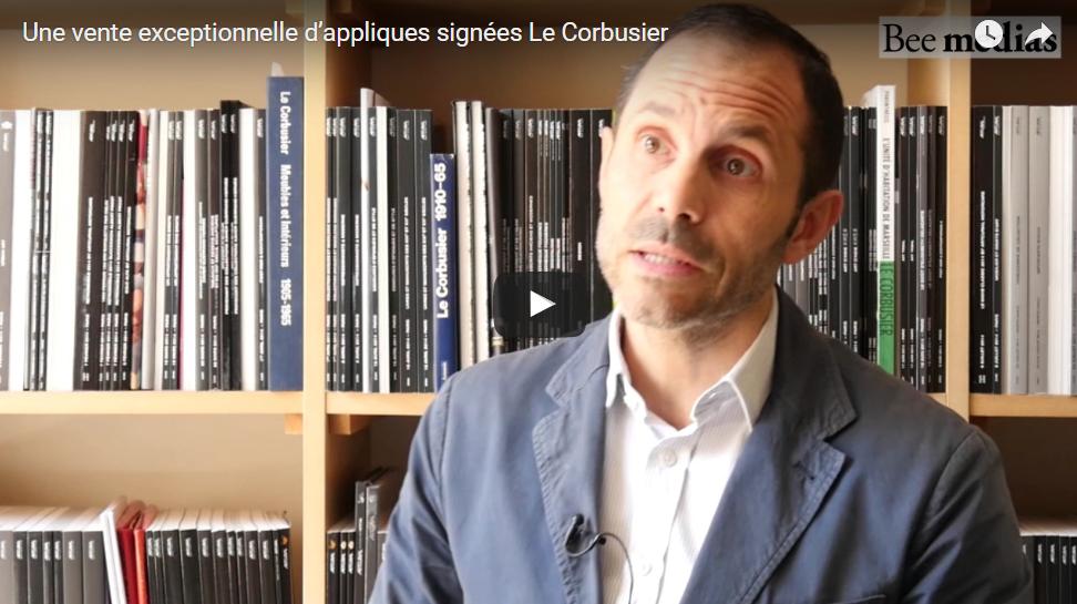 Une vente exceptionnelle d'appliques signées Le Corbusier