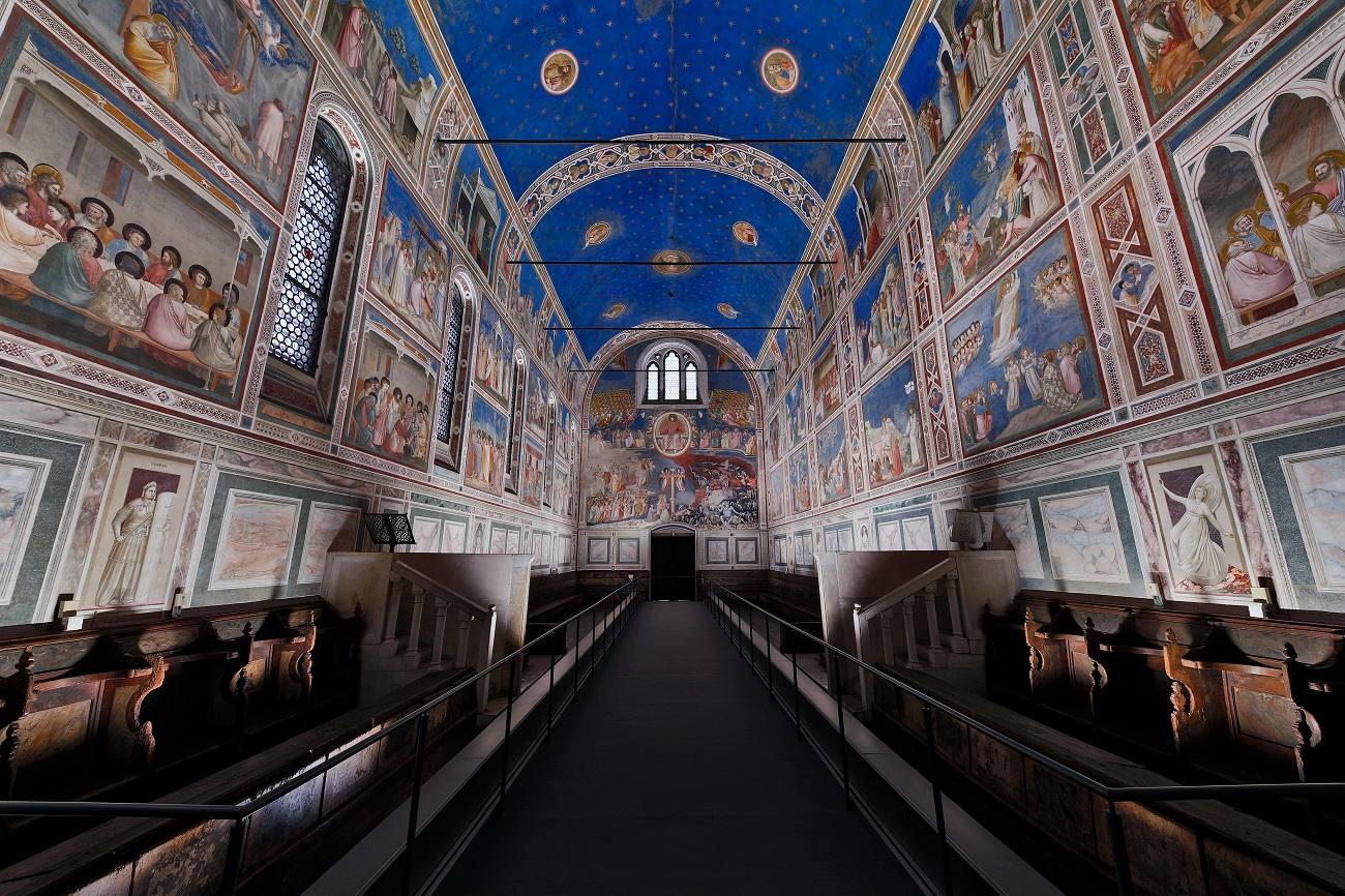 Les fresques de Giotto sous les feux des LED