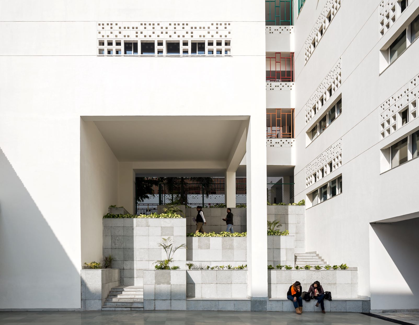 Morphogenesis : la British School de New Delhi
