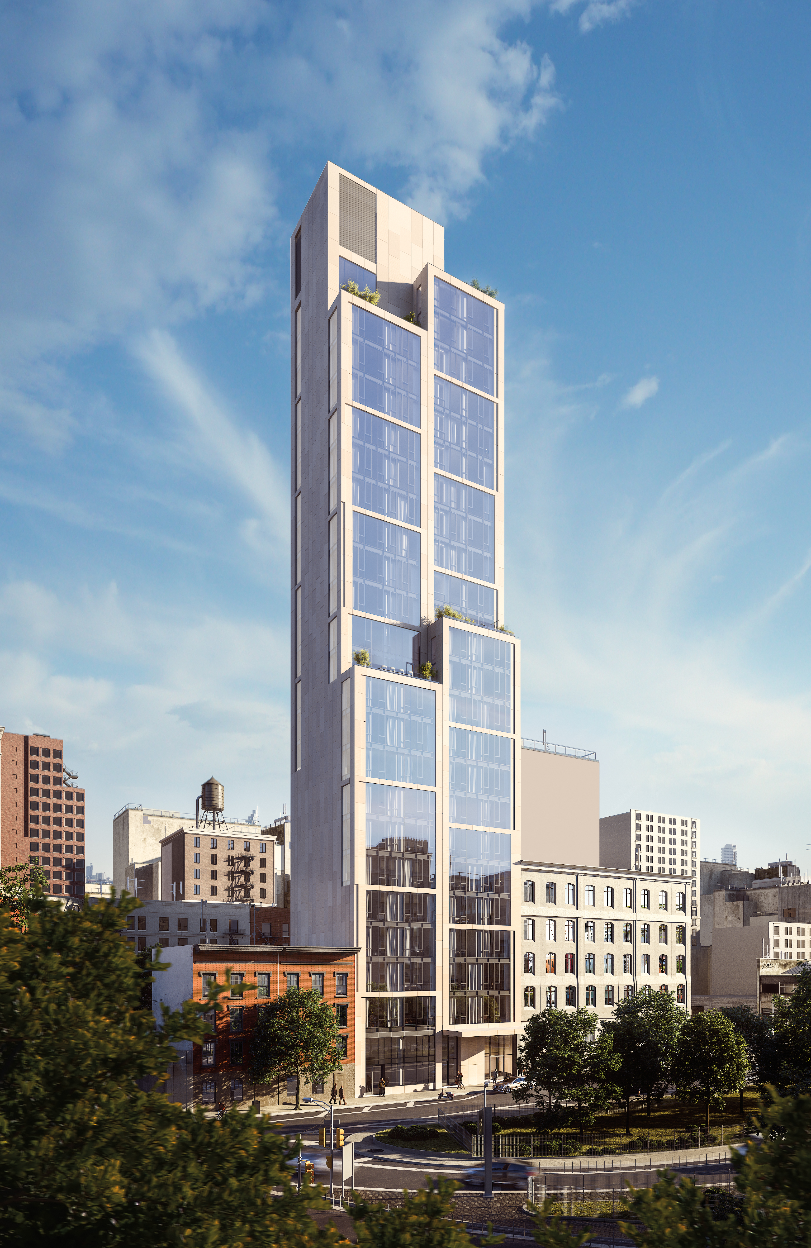 Neolith habille le 570 Broome à New-York
