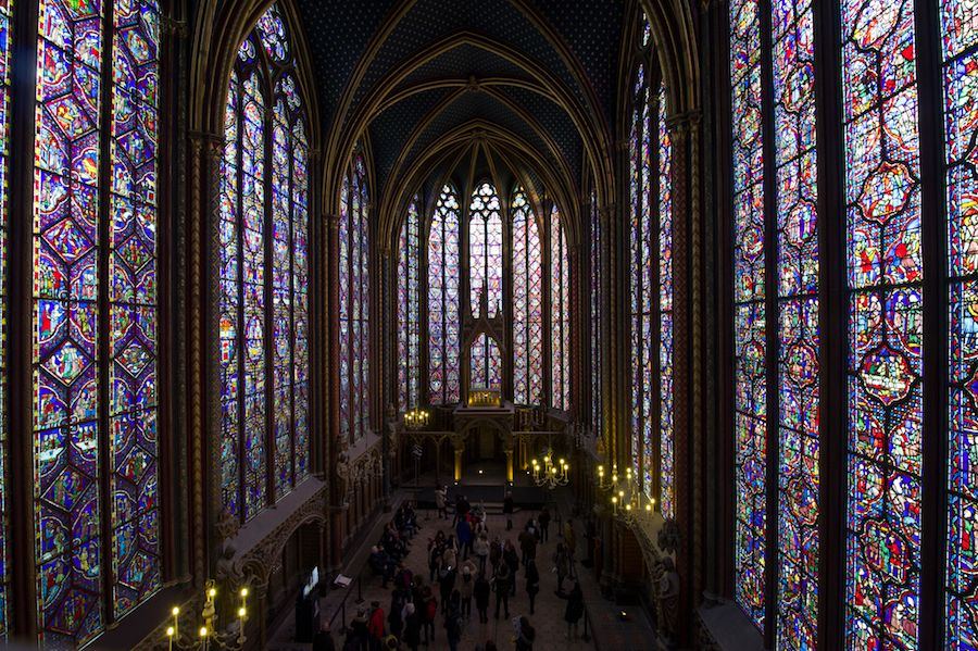 La Sainte-Chapelle restaurée
