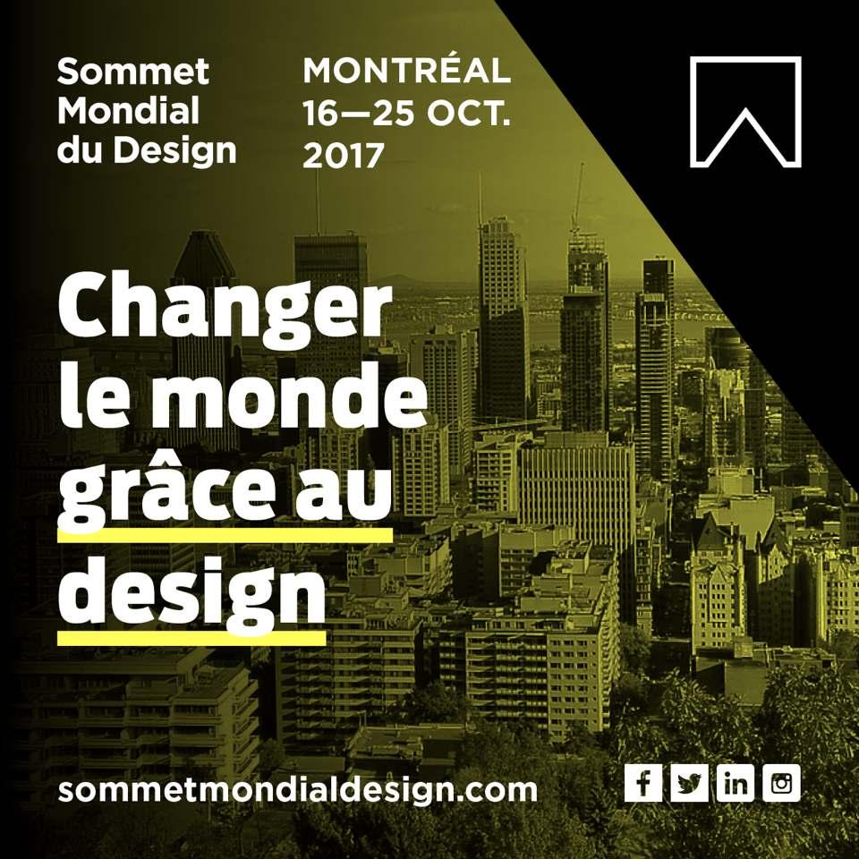 Le premier sommet mondial du design s'installe à Montréal