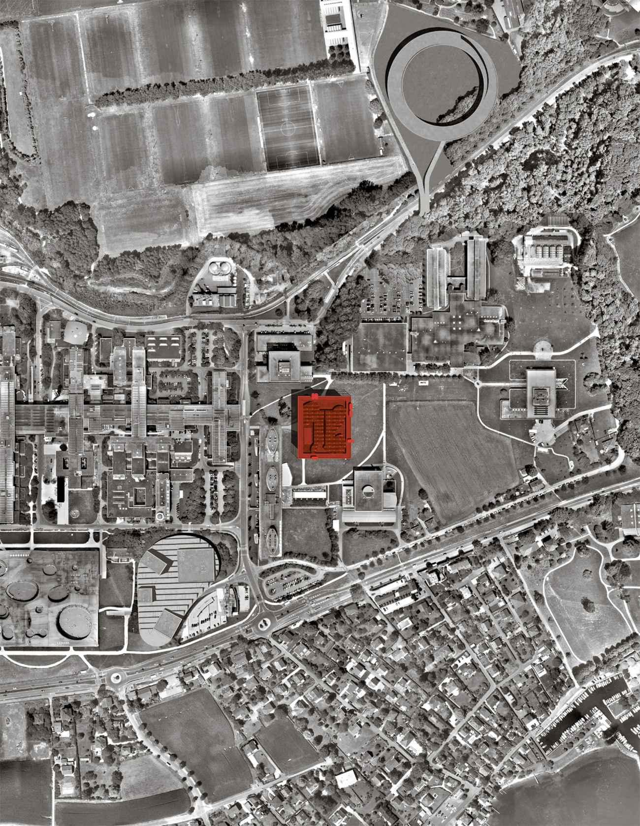 Nouvelle pièce d'architecture à l'Université de Lausanne