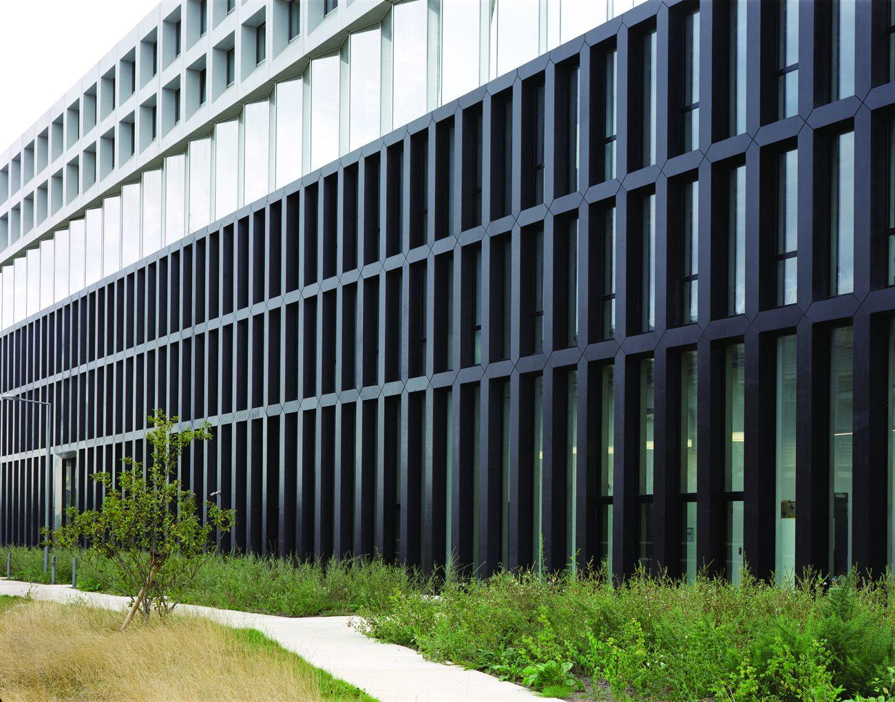 Campus EDF par ECDM :le ductal projeté