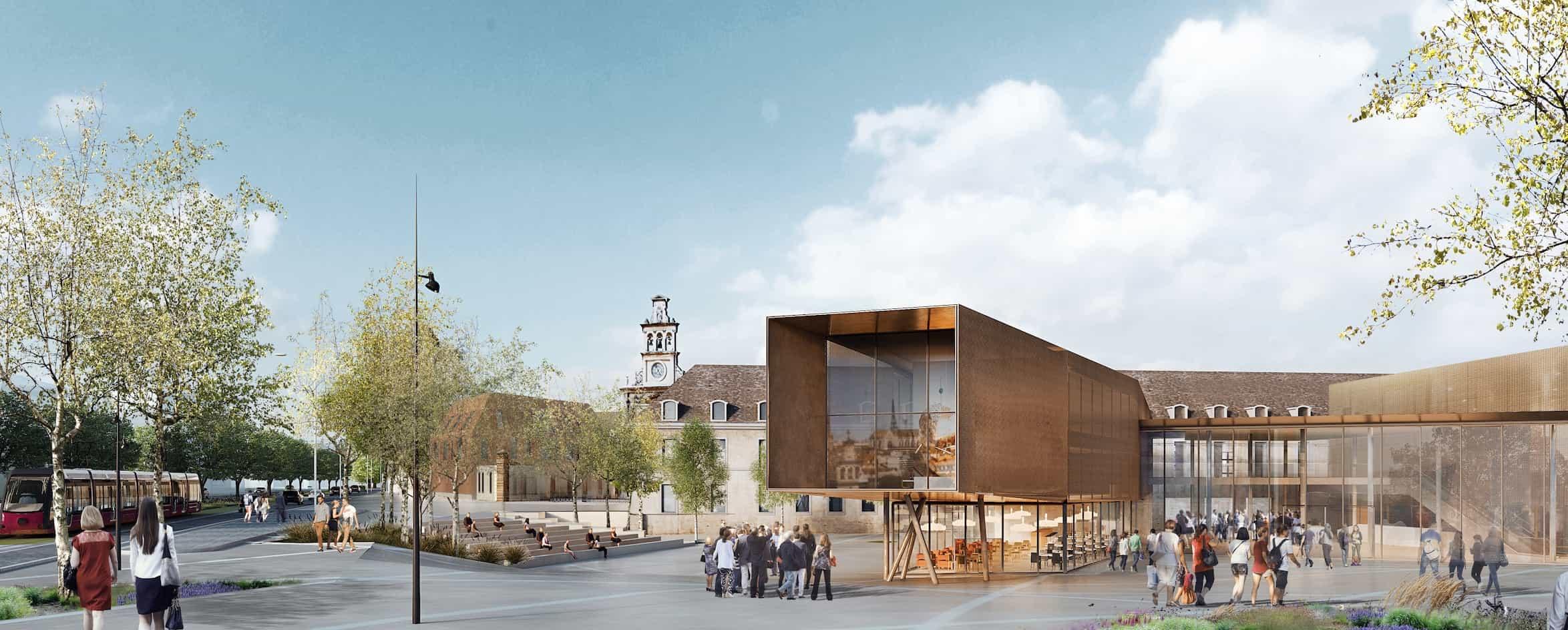 Dijon : la future Cité internationale de la Gastronomie et du Vin