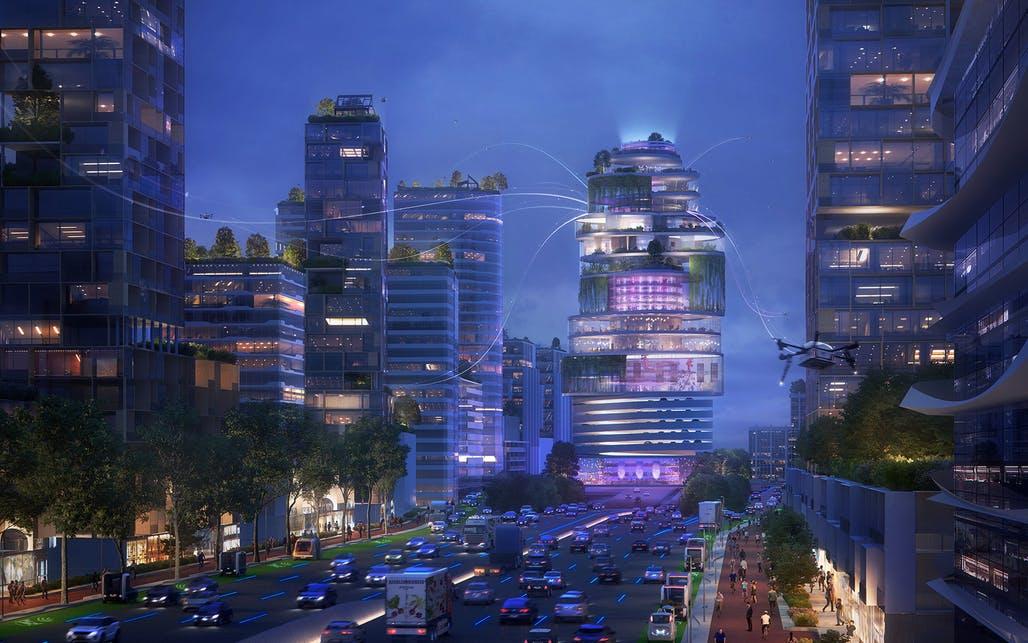 UNSense, la nouvelle start-up technologique d'UNStudio, pour la création de villes intelligentes axées sur l'humain