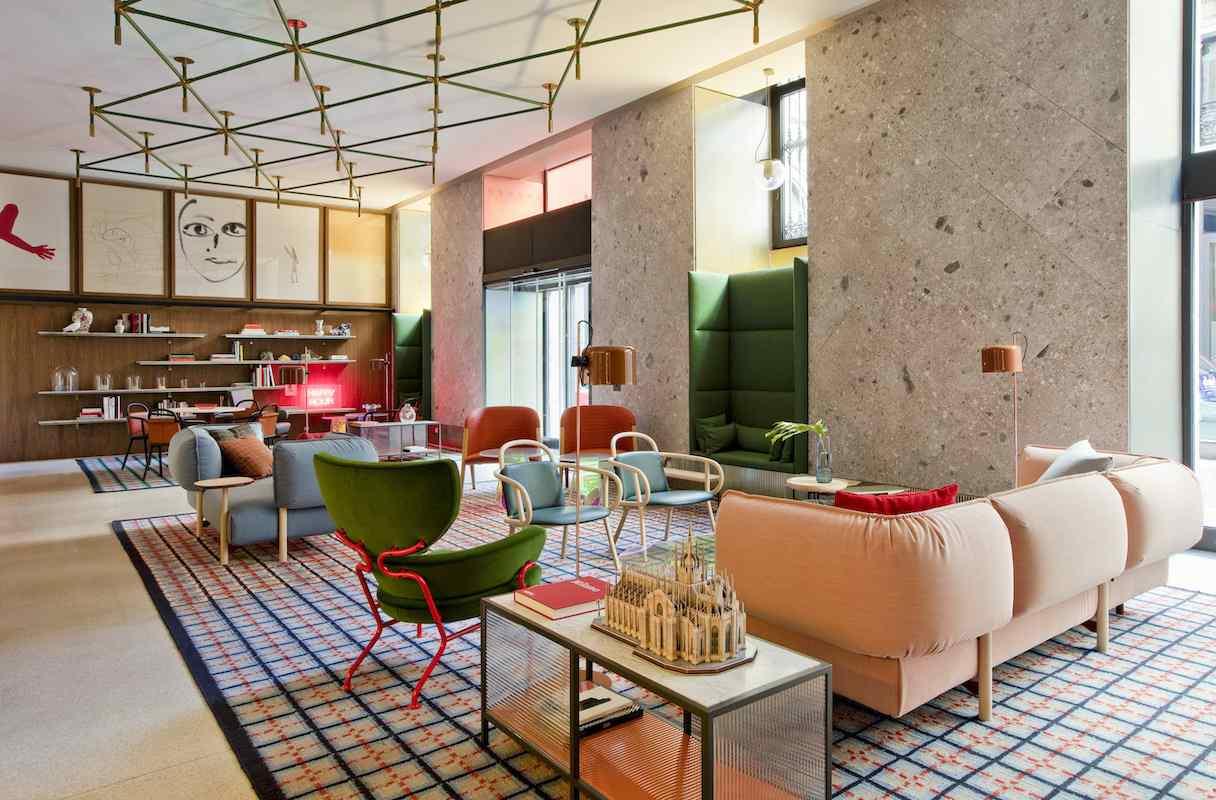 Un hôtel signé Patricia Urquiola à Milan