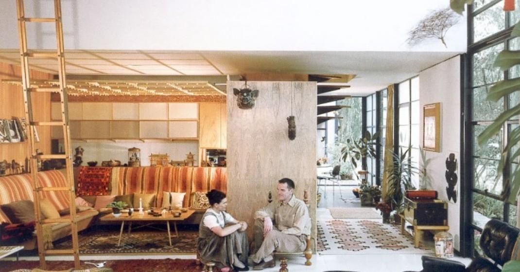 Eames House, la maison américaine au lendemain de la guerre