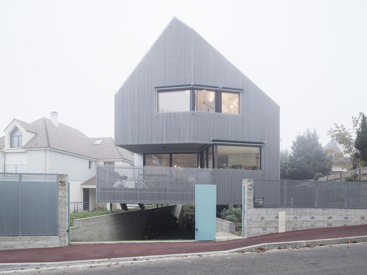 3 PLANS SUR la Maison Marly de l'agence Karawitz