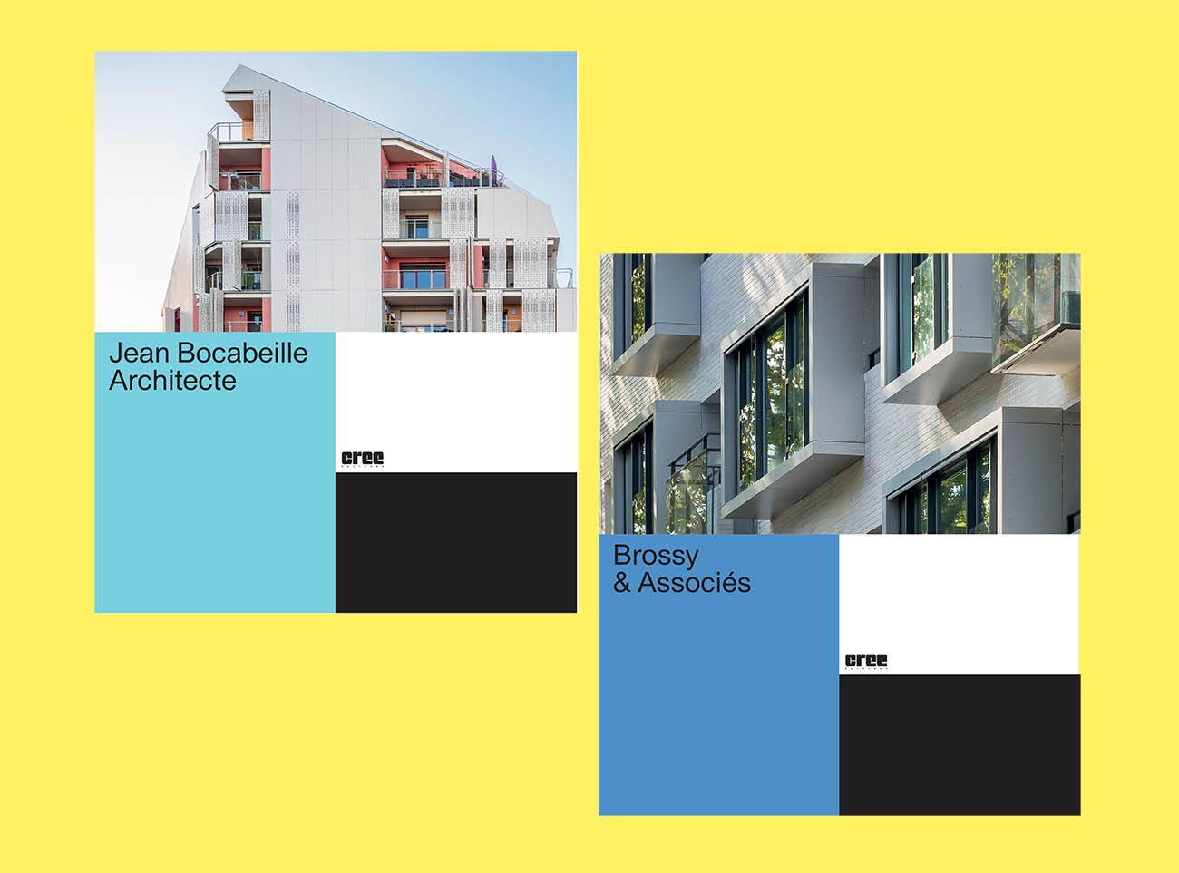 Les premiers «Visages de l'architecture» sont disponibles!