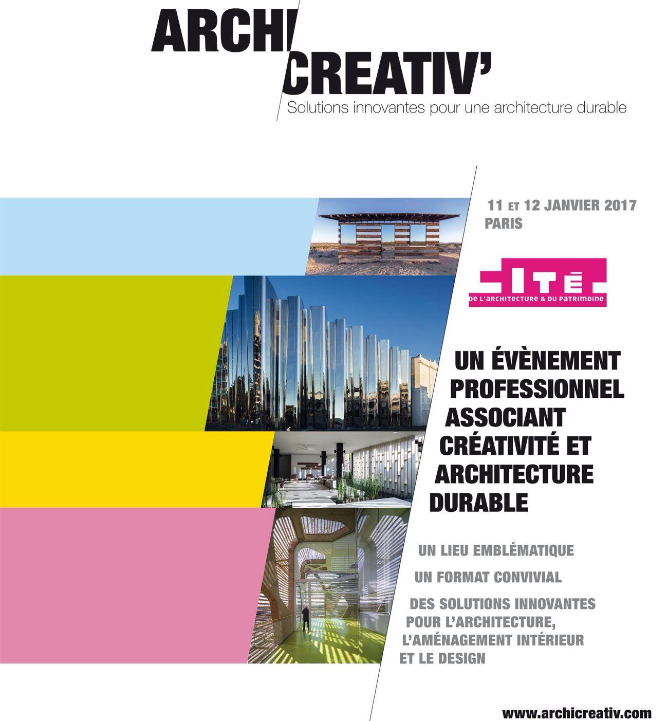 Archicreativ', un événement BeeMedias et ThemaDesign