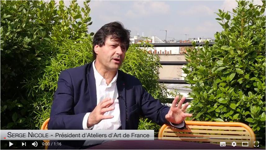 Salon Révélations 2017 : rencontre avec Serge Nicole