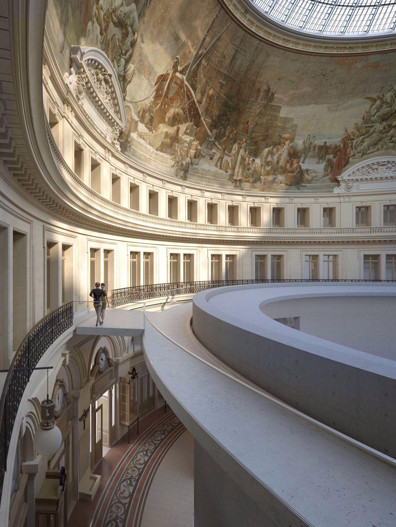 Tadao Ando s'approche du ventre de Paris