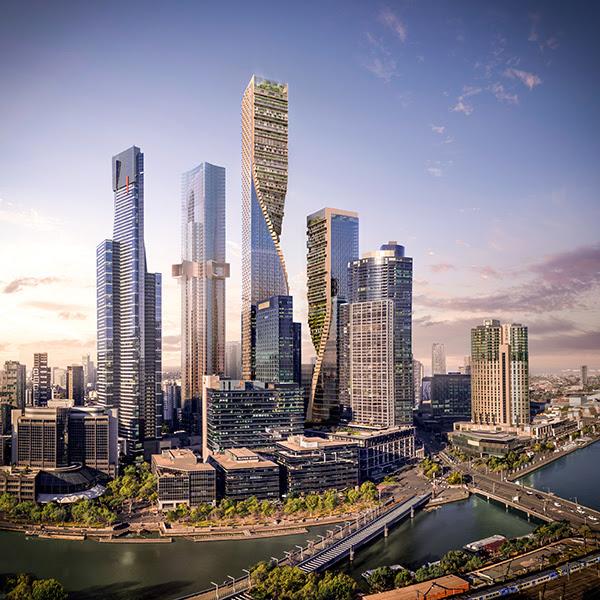 La plus haute tour d'Australie sera signée UNStudio