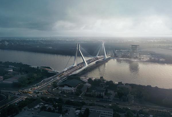 UNStudio remporte la compétition pour le nouveau pont de Budapest