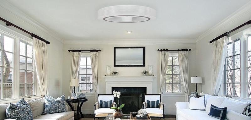 Exhale, le ventilateur de plafond sans pales