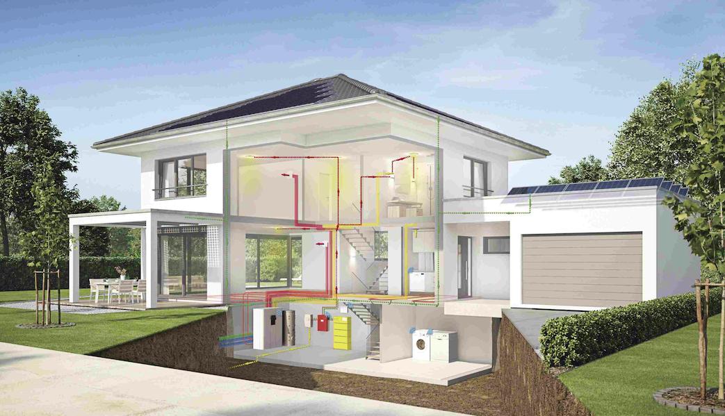 WeberHaus, la maison à énergie positive