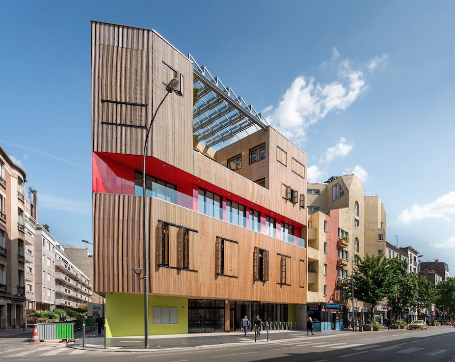 façade ouest MVAC