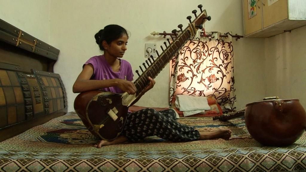 Joueuse de sitar