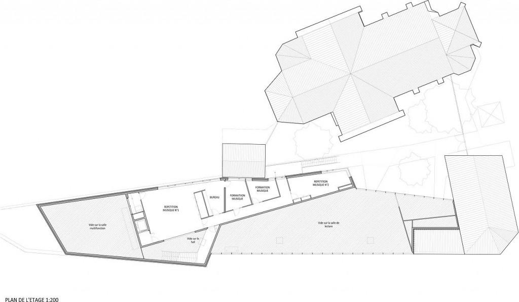 WONK - MEURCHIN - Plan Etage 1-200
