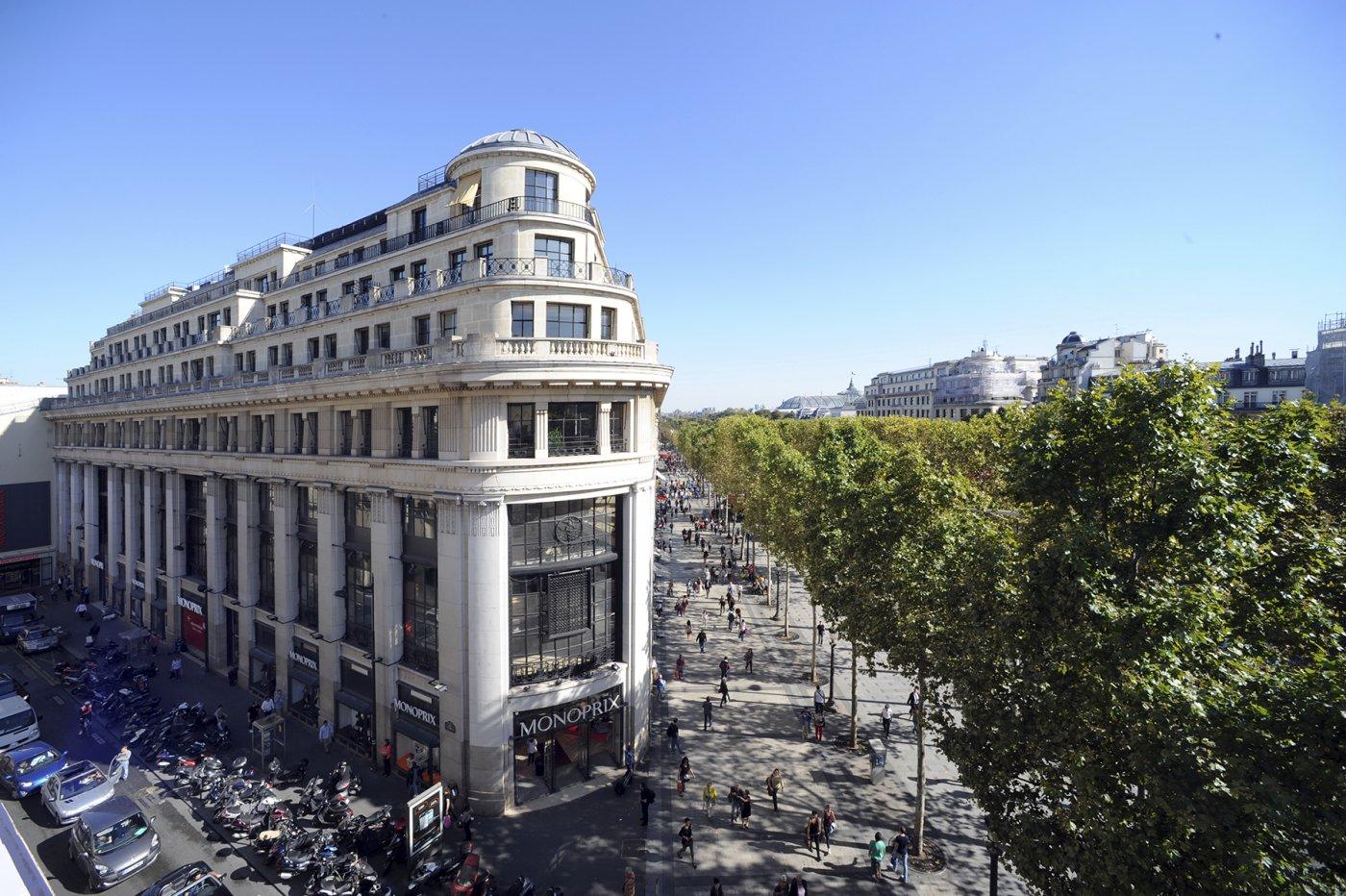 L'immeuble du 52 avenue des Champs-Elysées abritera le nouveau magasin des Galeries Lafayette
