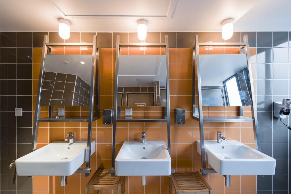 Salle de bain. Les Piaules