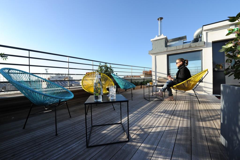 Le rooftop. Les Piaules