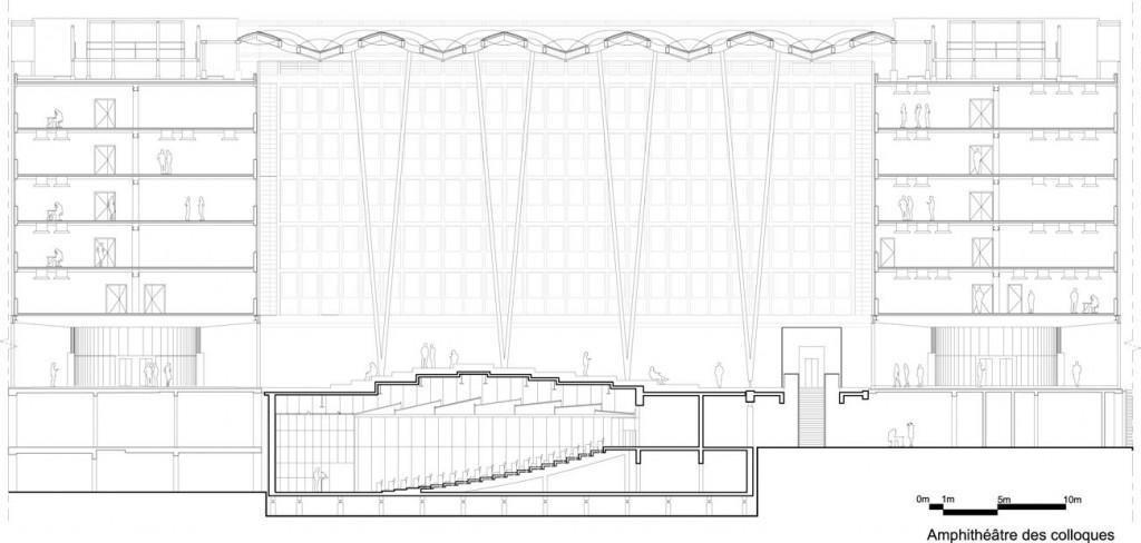 jussieau architecture studio auditorium