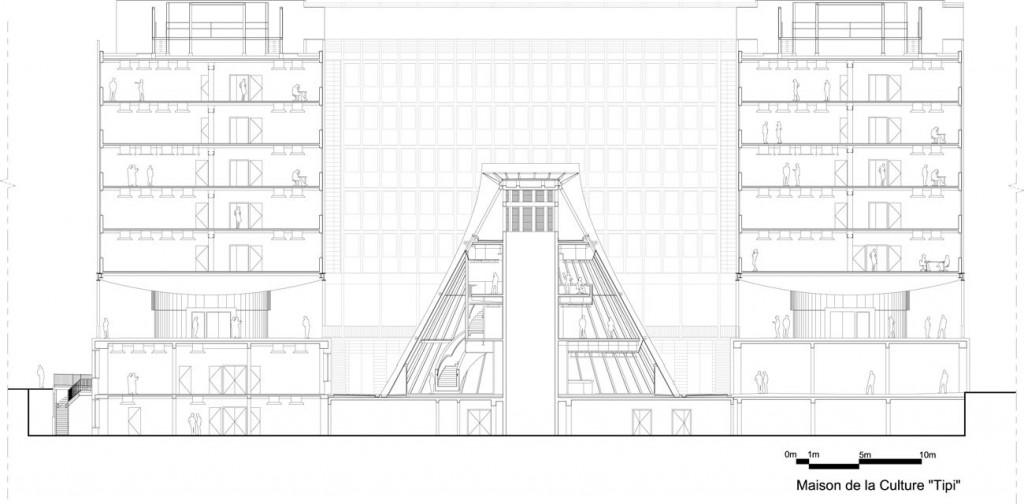 jussieu architecture studio coupe tipi