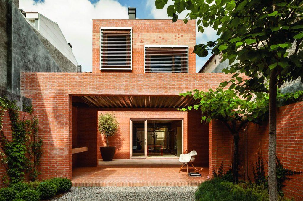 Brick Award_brique_terre cuite_House 1014_Harquitectes