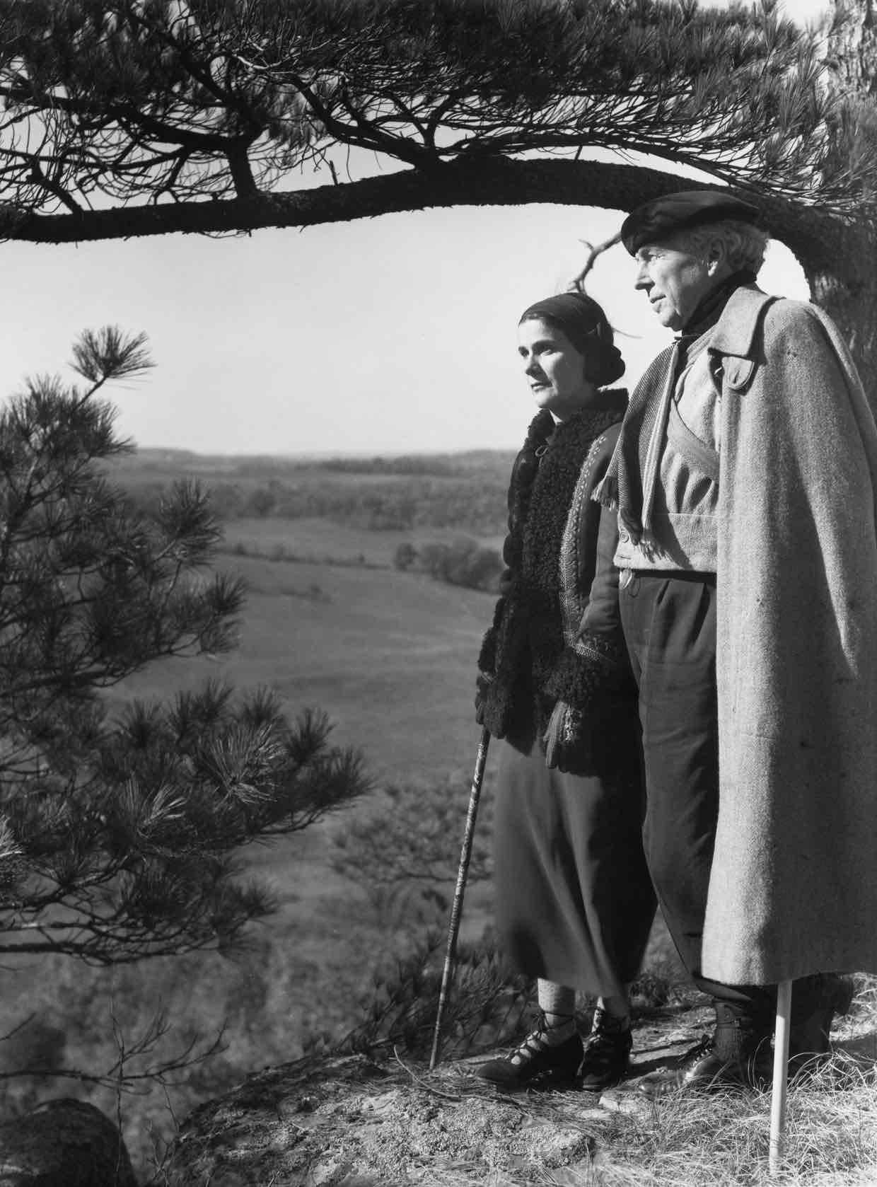 Frank Lloyd Wright et Olgivanna