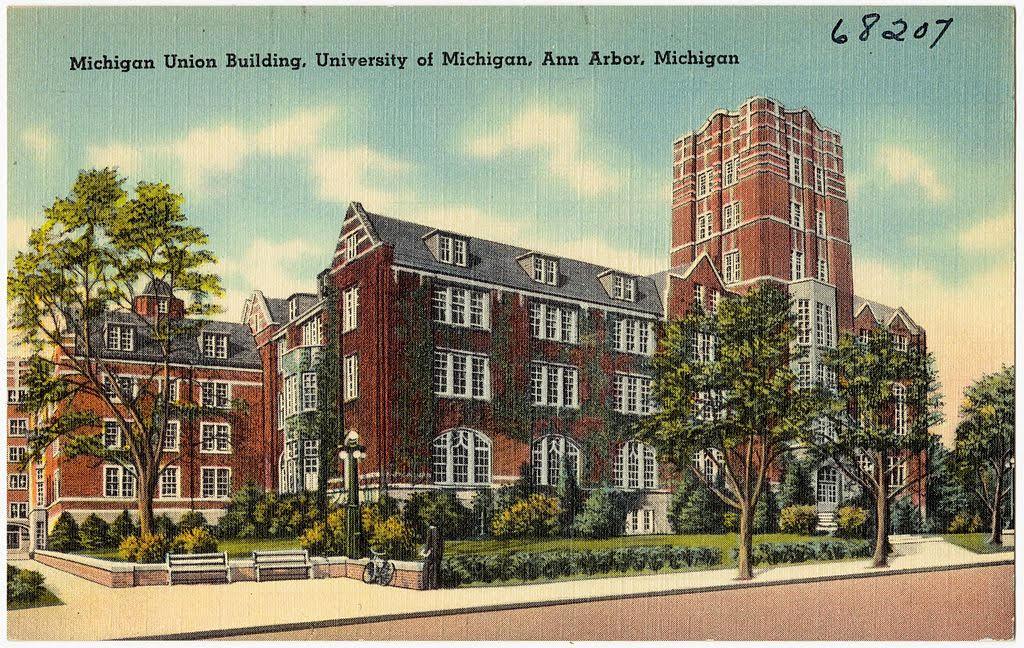 le Michigan Union Building, dont l'atmosphère serait jugée oppressante pour les étudiants issus de minorités