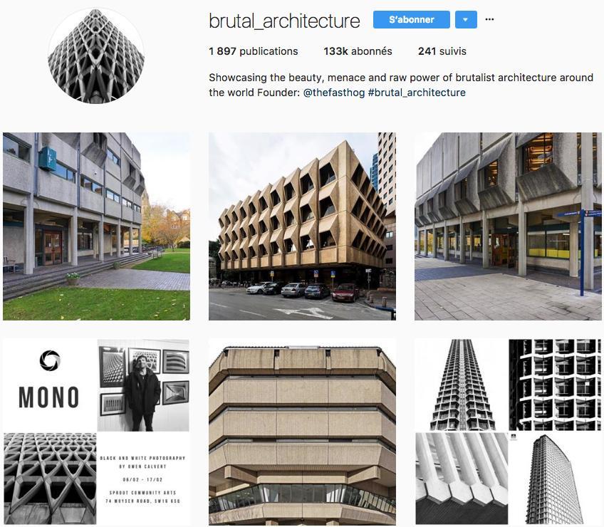 brutalisme brutal architecture instagram