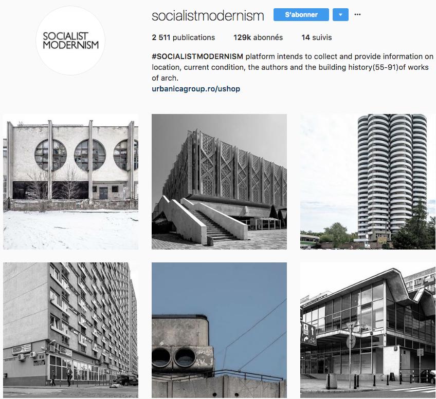 brutalisme socialist modernism instagram